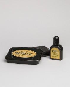 """Premium-Tinte """"Metallic Gold"""""""