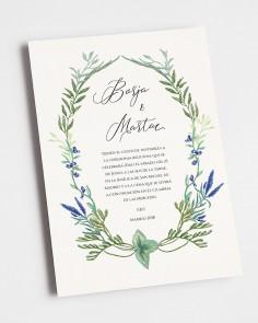 """Hochzeitseinladung """"Wilde..."""