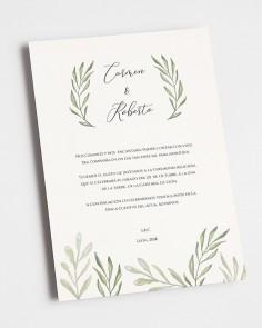 """Hochzeitseinladung """"Olivo"""""""