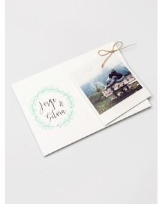 """Hochzeitseinladung """"Polaroid"""""""